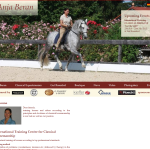Anja Beran classical equestrianism